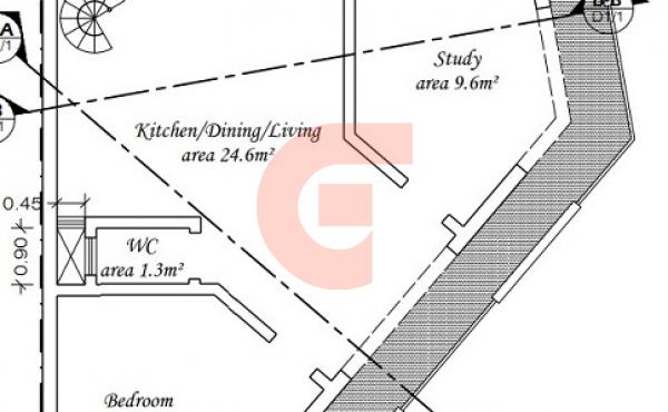 (3) Second Floor Duplex